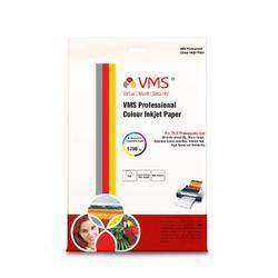 VMS Professional Colour Inkjet Paper CC Semi Glossy Inkjet Photo Paper 4R 180 GSM (100 sheets)