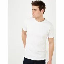 Cotton Plain Biowash Round Neck T Shirt 180 Gsm