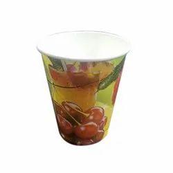 Juice Printed Paper Glass