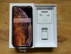 Gold Silver Brand Original Apple Iphone Xs Max 512GB