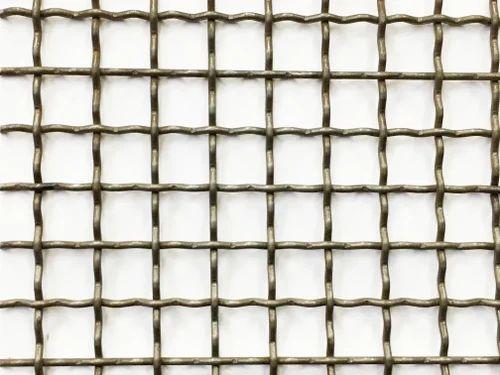 Corrugated Crimp Mesh, क्रिंप्ड तार का जाल ...