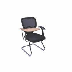 Triangle Back Half Writing Pad Chair