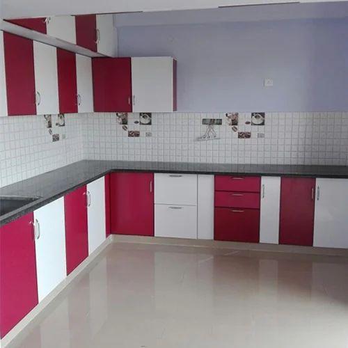 Aluminium Modular L Shape Kitchen Cabinet Modern Kitchen Cabinets