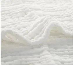 Organic Cotton Double Cloth Muslin Fabric