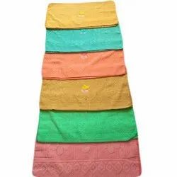 Printed Cotton Embroidered Hand Towel