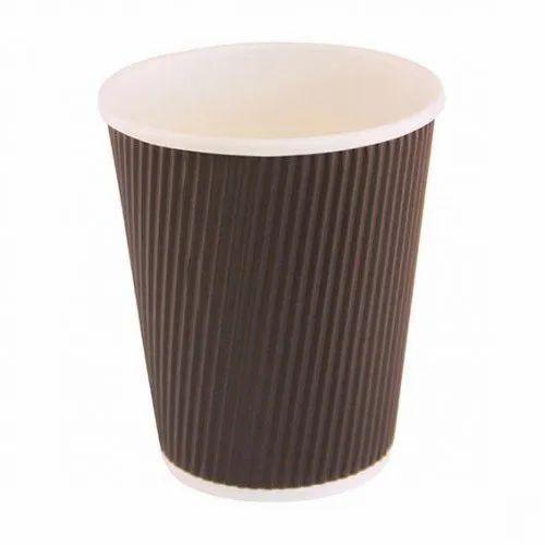Orbital Printed Disposable Paper Cup