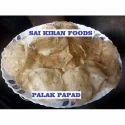 Palak Rice Papad
