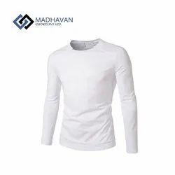 Men Half Sleeves Crew Neck T Shirt