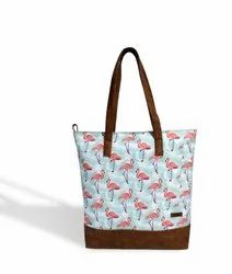 Caris Printed Shopping Bag
