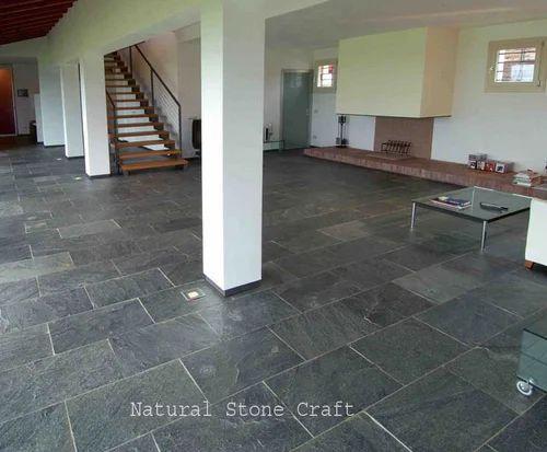 Grey slate tile tile design ideas for Bluestone flooring interior