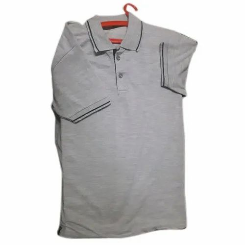 Polyester Mens Plain T-Shirt, Size: S to XXL