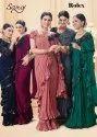 Saroj Desginer Rolex Imported Heavy Lycra Fancy Saree