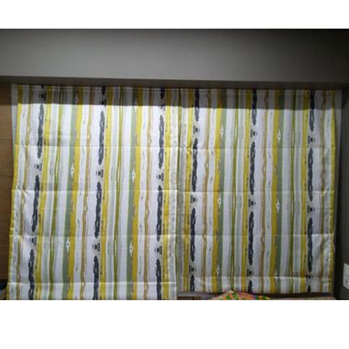 Polyester Printed Roman Curtain Blind