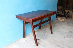 Honey Brown Dimensions: 48x24x30 Inch Solid Sheesham Cafeteria Dining Table, Size: W13xd13xh30 Inch