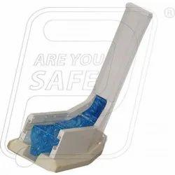 Auto Shoe Cover Dispenser L shape