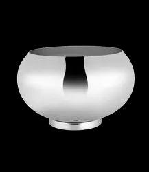 Mirror Steel Punch Bowl