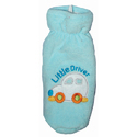 Colored Terry Baby Bottle Covers