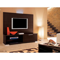 Brown Wall Mounted TV Wall Unit