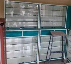 7 Feet Modern Pharmcy Storage rack, 300 Kg