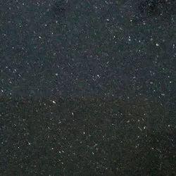 South India Black Galaxy Granite Slabs, Thickness: 15-20 mm