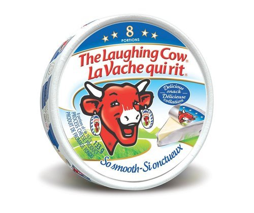 la vache the laughing cow cheese 8 portions packaging type