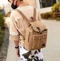 Vintage Canvas Backpack for Women Men