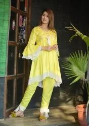 Rayon Ladies Kurti Pants