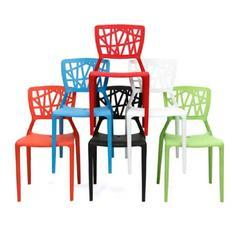 Plastic Cafe and Canteen Chair
