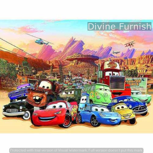 Multicolor Disney Cars Wall Murals Rs 99 Square Feet Grabistic