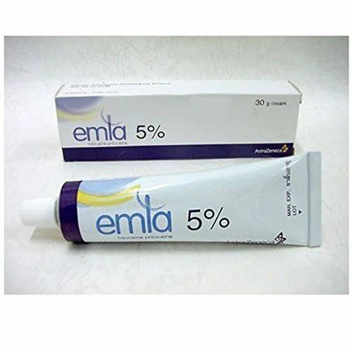 Emla 30 g Cream, Packaging Type: Tube