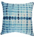 Natural Indigo Dye 100% Cotton Cushion Cover 16x16 Shibori Tie Dye Pillow Cover