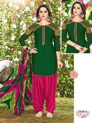 Fashionable Patiala Suit