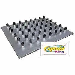 Ceramic Puffer Plate 12x12 Inches