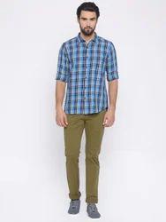 Slim Cotton/Linen Trouser