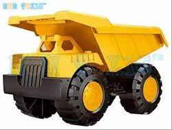 Yellow Non Toxic Unbreakable JCB Dumper Construction Toy