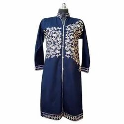 Ladies Designer Woolen Embroidery Kurti