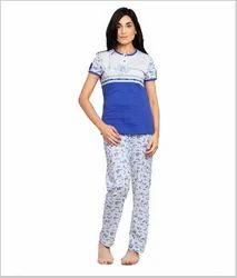 Cotton, Hosiery Ladies Night Suit, Size: XXS-XXXL