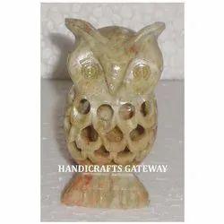 Soapstone Undercut Owl