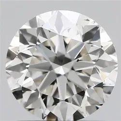 1.01ct Lab Grown Diamond CVD I VS2 Round Brilliant Cut Type2A