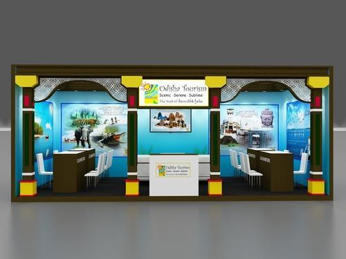 School Exhibition Stall Design : Exhibition stall fabrication and designing service customize