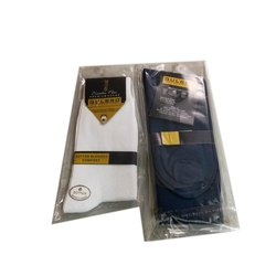 Plain Cotton School Socks, Size: 3 To 7