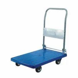 BAHA Plastic ABS Folding Trolley, Load Capacity: 300 kg
