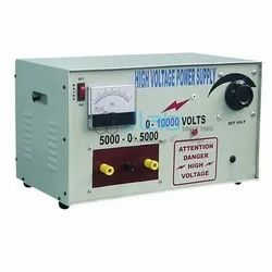 High-Voltage Power Supply for Laboratory Use