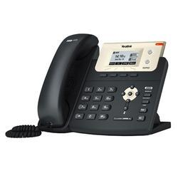 Black Yealink T21PE2 IP Phone