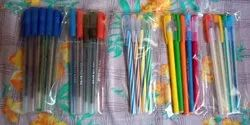 Tin Tin Ball Pen/Plastic Ball Pen/ Refill/ Use And Throw Ball Pen, Packaging Type: Packet, Packaging Size: 4000 Pcs Mix