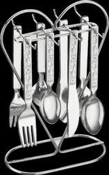 Heart Shape Cutlery Set