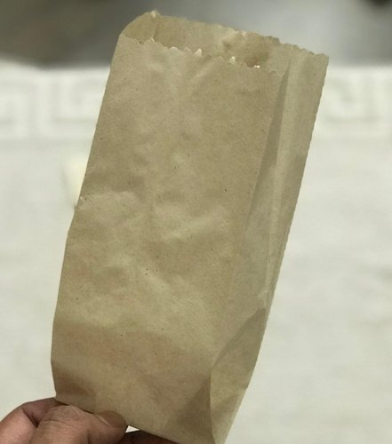 Brown Plain Grocery Paper Bags