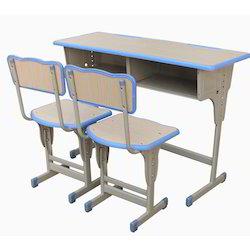 Classroom Double Seat School Desk