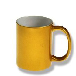Golden Coffee Mug, for Home