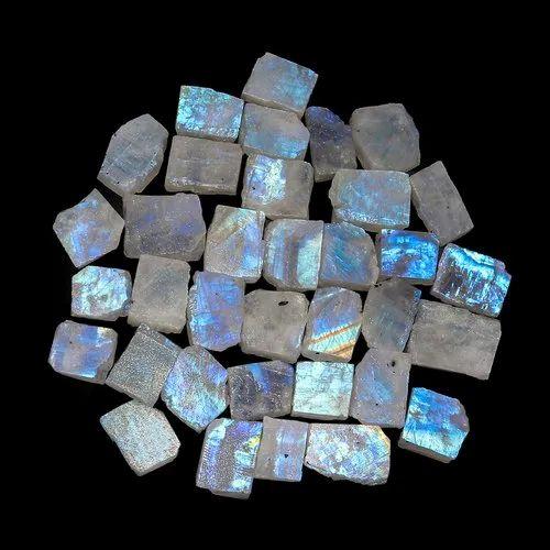 Cabochon Moonstone Raw Moonstone Crystal Stone Moonstone Of Rainbo